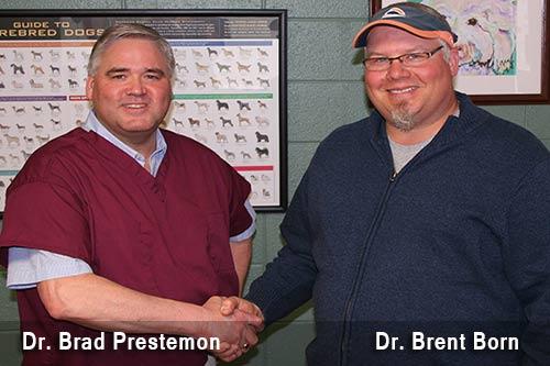 Dr. Brad Prestemon - Dr. Brent Born. Veterinarians